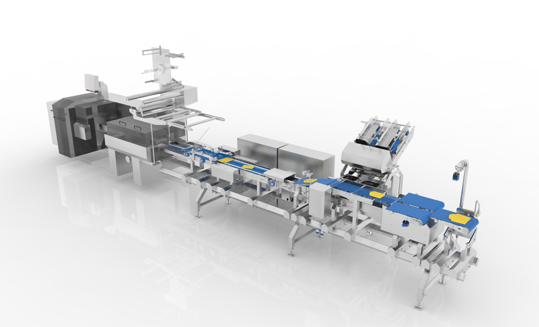 It is possible to have an Omori Flow Wrapper in your production line